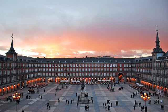 Plaza Mayor em Madri