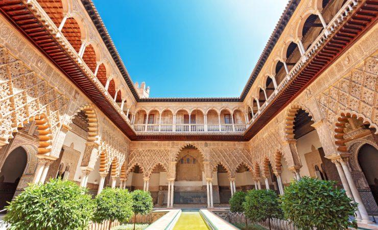 Arquitetura Alcázar de Sevilha