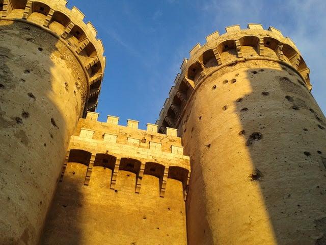 Torres de Serranos em Valência