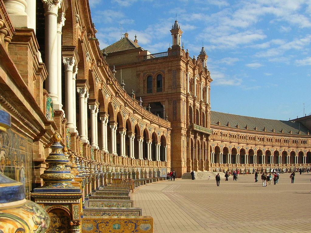 Arquitetura da Plaza de España
