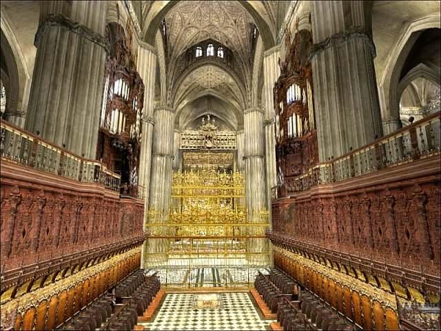 Catedral de sevilha dicas de barcelona e espanha - Catedral de sevilla interior ...