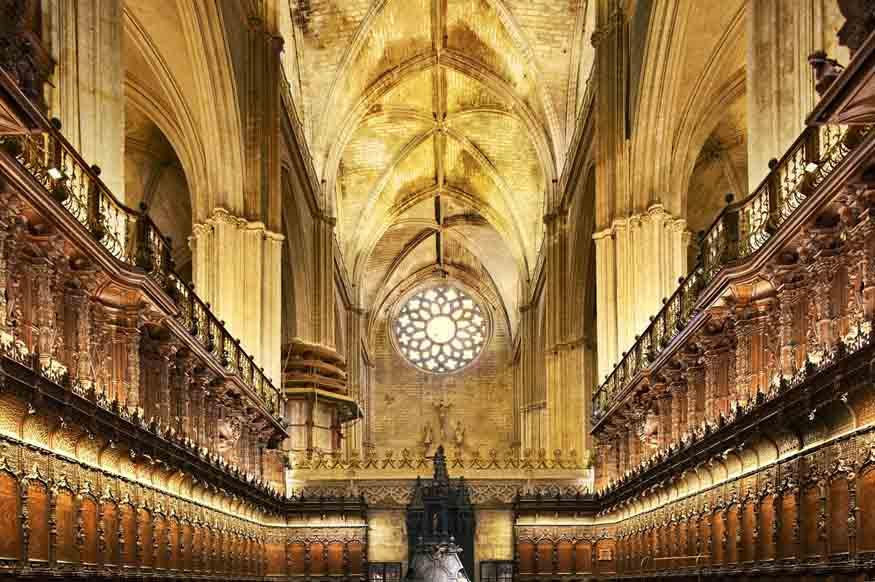 Partes da Catedral de Sevilha - Capela Real