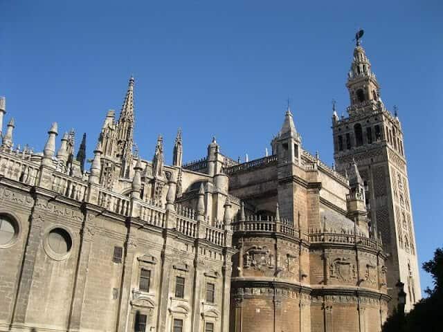 Torre Giralda na Catedral de Sevilha