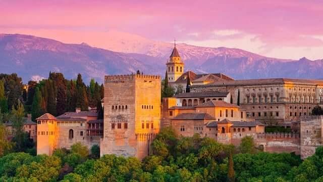 Alhambra em Granada