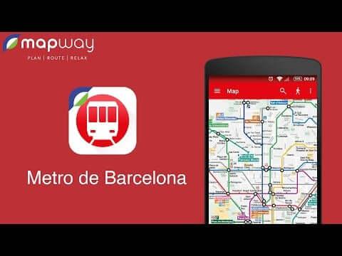 Aplicativo Barcelona Metro Map