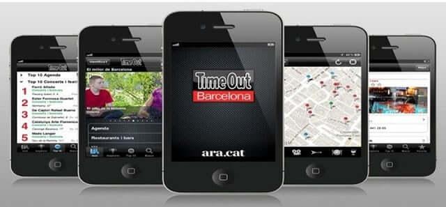 Aplicativo Time Out Barcelona