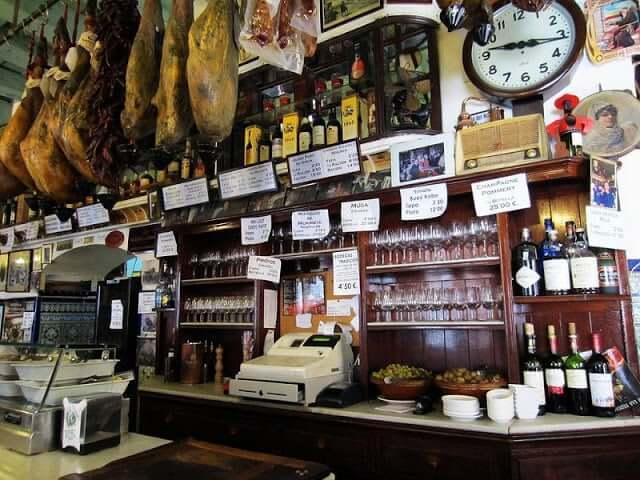 Bar Las Teresas em Sevilha