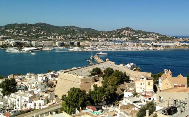 Centro histórico Dalt Vila em Ibiza