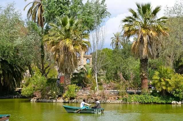 Parque de la Ciutadella em Barcelona
