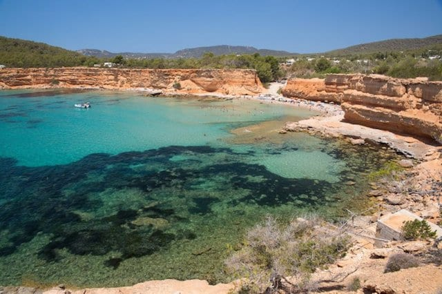 Cala Sa Caleta em Ibiza