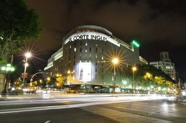 Lojas de departamentos - El Corte Inglés