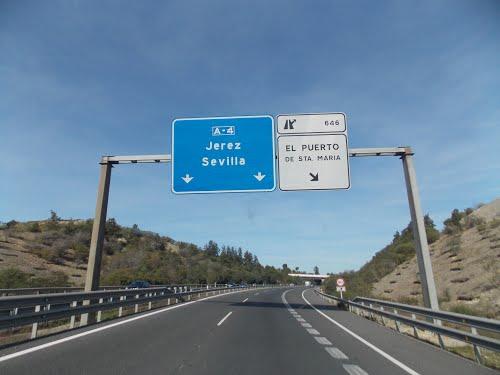 Estrada para Sevilha