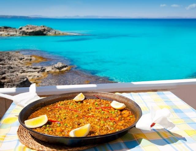 Restaurante em Formentera