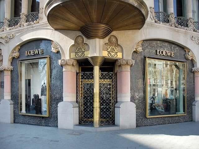 Marca Loewe em Barcelona
