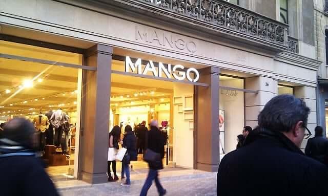 Loja Mango em Barcelona