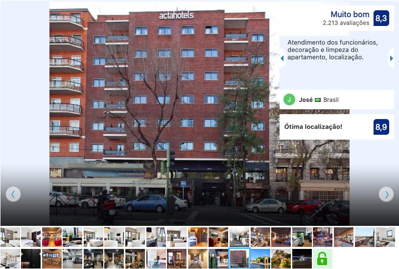 Hotel Acta Madfor em Madri