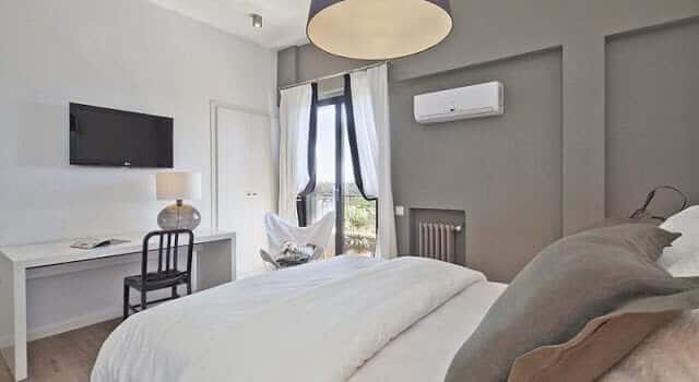 Hotel Acta Madfor em Madri - quarto