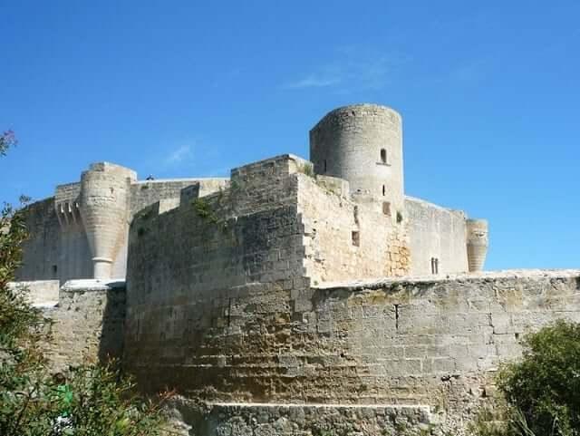 Castelo de Bellver em Maiorca