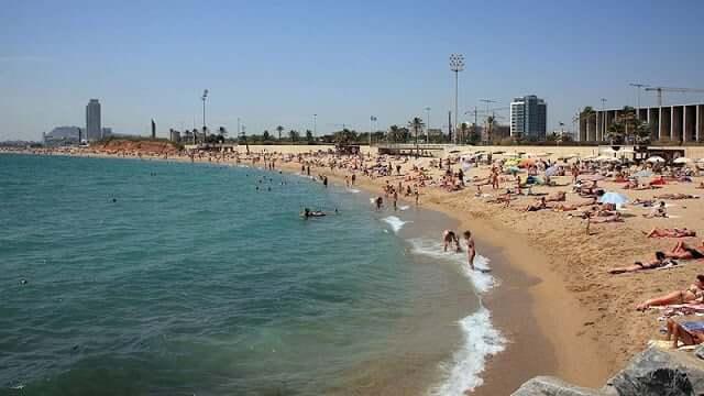 Praias de Barcelona - Mar Bella