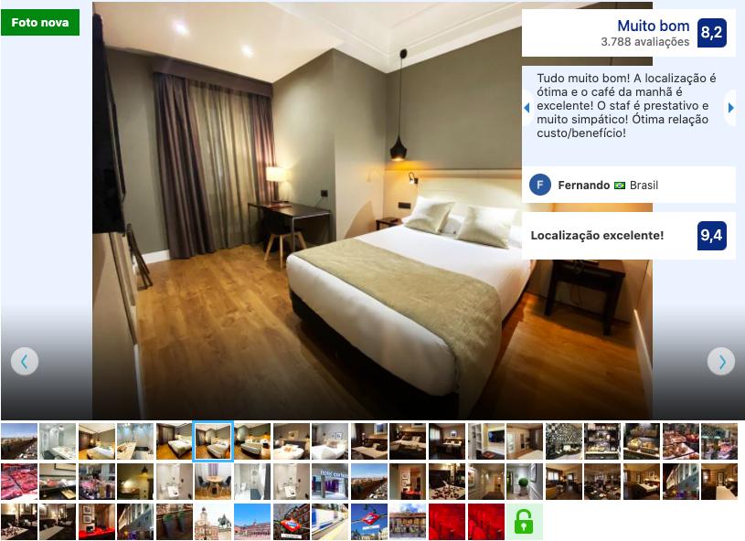 Hotel Cortezo em Madri