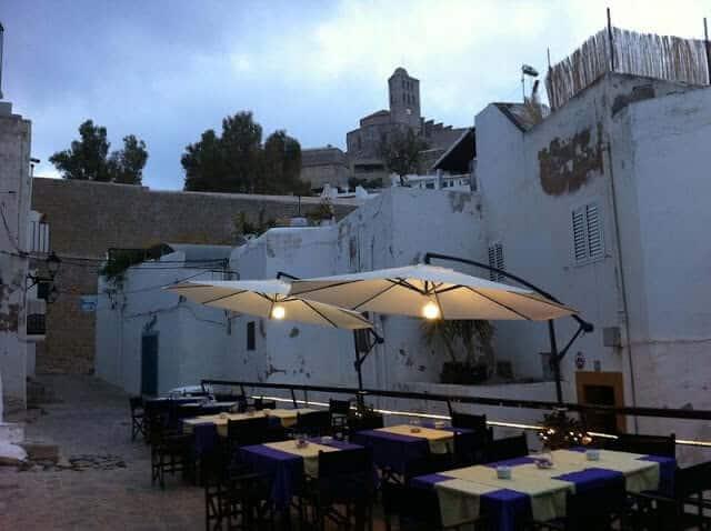 Restaurante Ambits em Ibiza