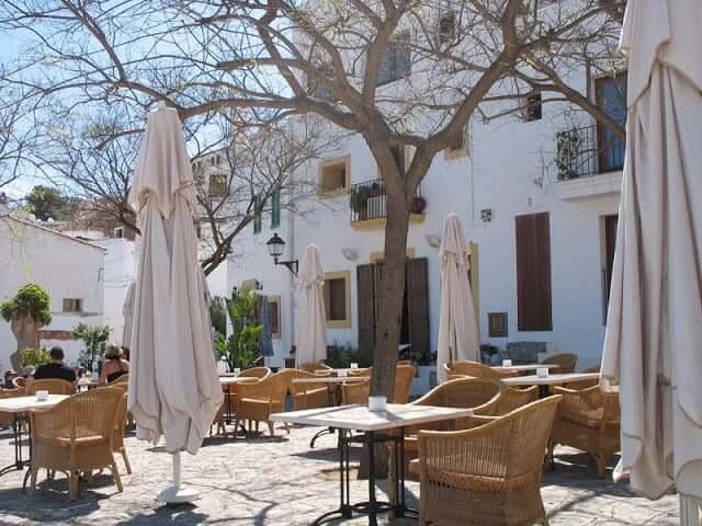Restaurante Plaza del Sol em Ibiza