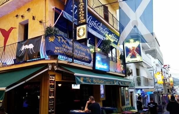 The Highlander Scottish Bar em Ibiza