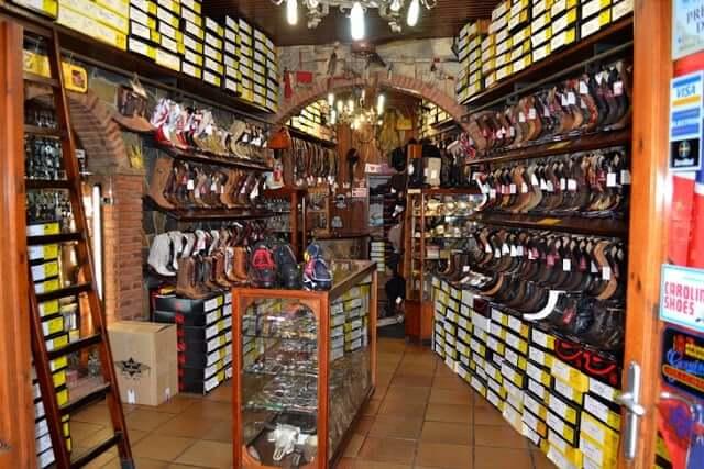 Lojas de couro - Barcelona