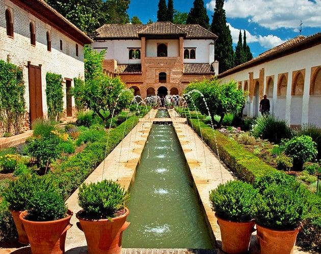 Jardim de la Generalife - Alhambra