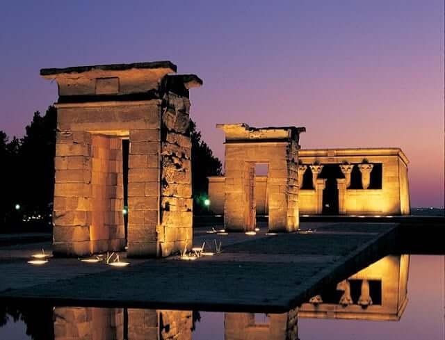 Templo de Debod em Madri