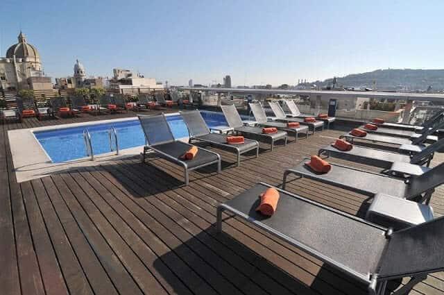 Hotel Jazz em Barcelona