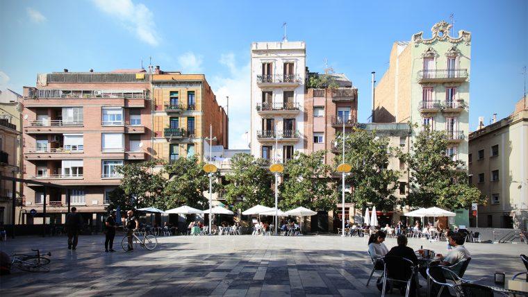 Plaça del Sol em Barcelona