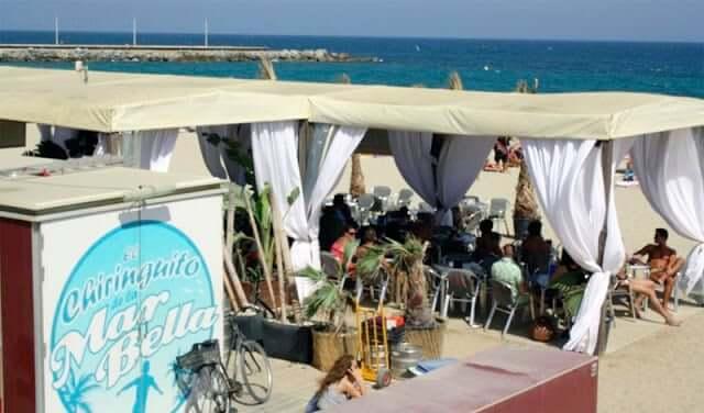 Quiosques na Praia Mar Bella