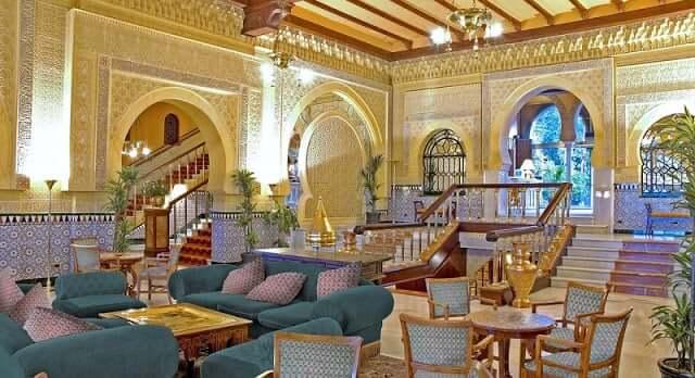 Alhambra - sala do palácio