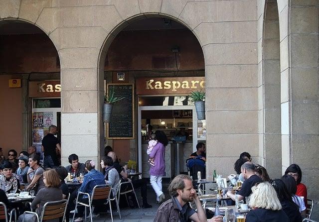 Bar Kasparo em Barcelona