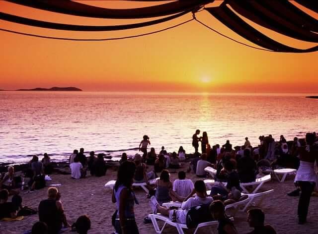 Bar Café del Mar em Ibiza