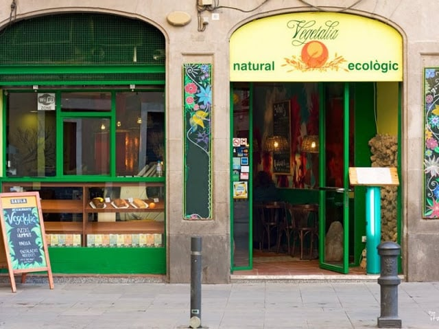 Restaurante Vegetariano em Barcelona