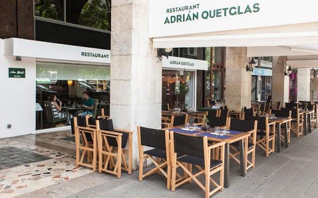 Restaurante Adrian Quetglas em Maiorca