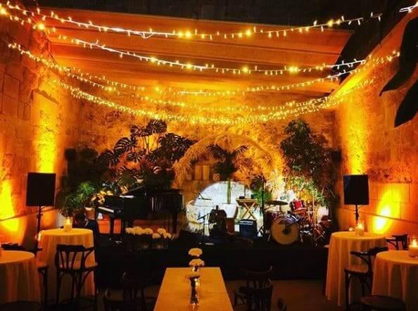 Bar Sa Falua em Menorca - jardim