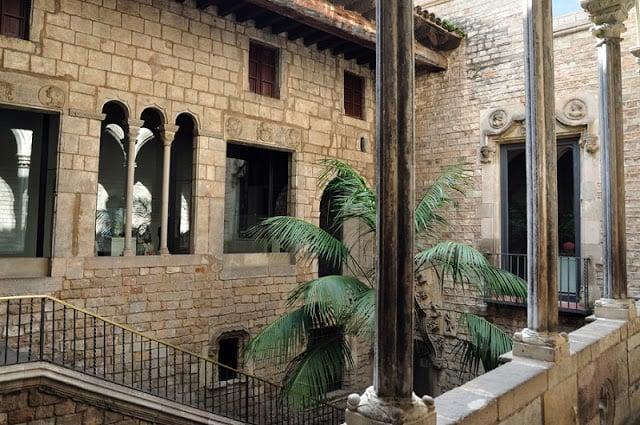 Museu Picasso no Carrer Montcada