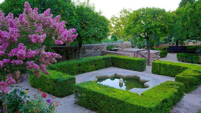 Jardins Generalife em Granada