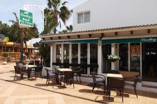 Lindley's Bar em Maiorca