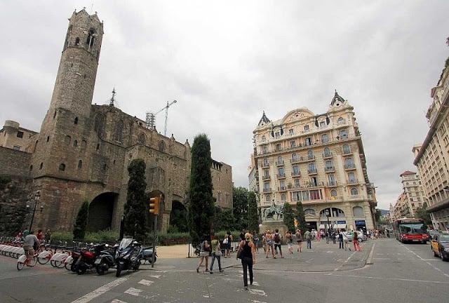Plaça de Ramon Berenguer el Gran