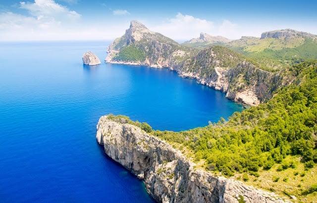 Cap de Formentor em Maiorca