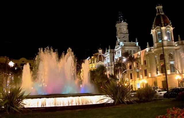 Valencia à noite