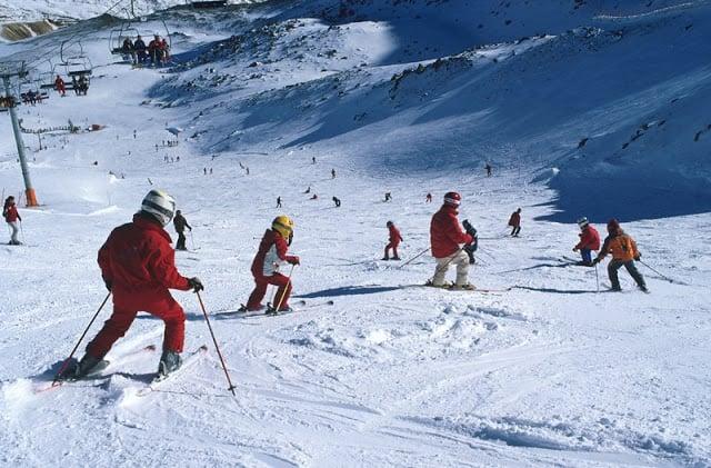 Estação de esqui San Isidro