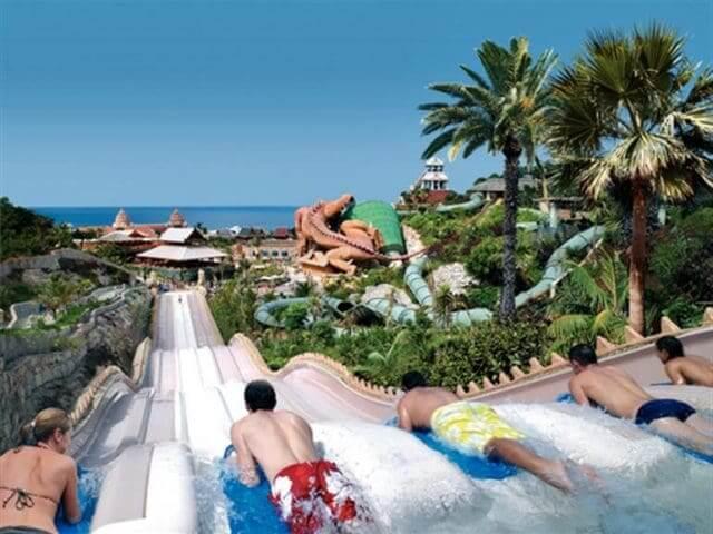 Siam Park em Tenerife na Espanha
