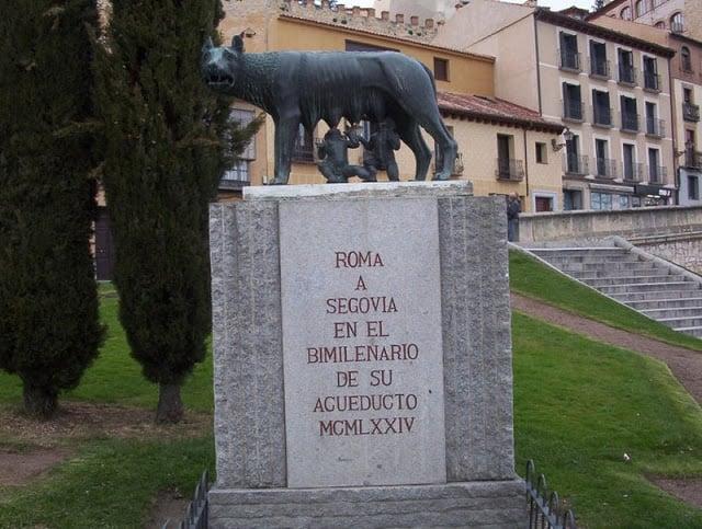 Símbolo dos romanos - Aqueduto de Segovia