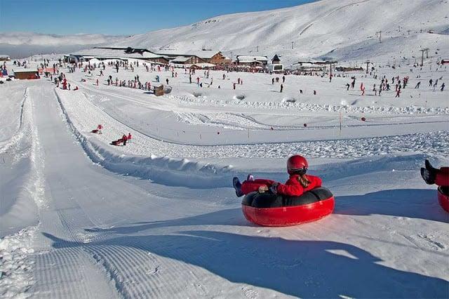 Sierra Nevada - estação de esqui