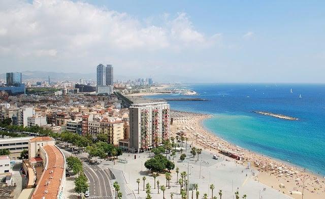 Clima em Barcelona - época de primavera-verão